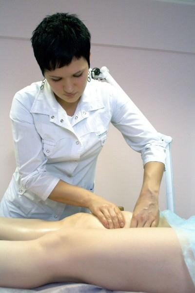 массаж бока убрать жир